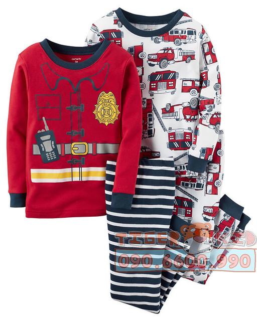 Quần áo trẻ em, bodysuit, Carter, đầm bé gái cao cấp, quần áo trẻ em nhập khẩu, Bộ set Pijamas nhập Mỹ bé trai
