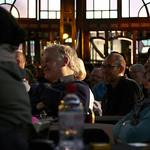 Audience enjoying Alain Mabanckou & Etgar Keret |  © Helen Jones