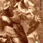 Ariccia Coll. S. Maria Assunta Visione di S. Agostino di Bernardino Mei 1665 ca