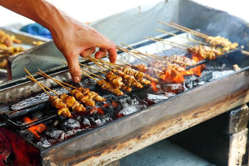Grilling-Satay