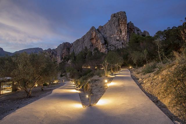 Senderos de Vivood Landscape Hotel en el Valle de Guadalest (Alicante)