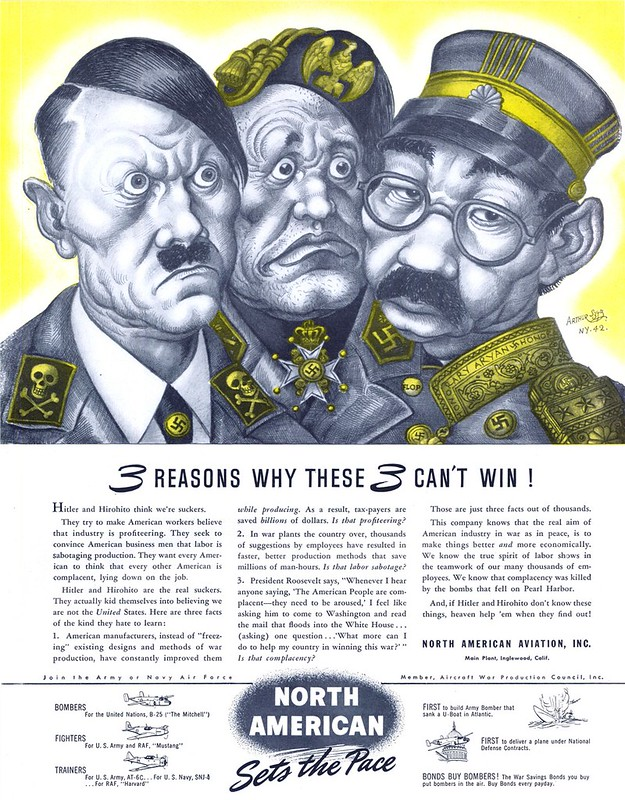 North American Aviation - published in Life - August 31, 1942