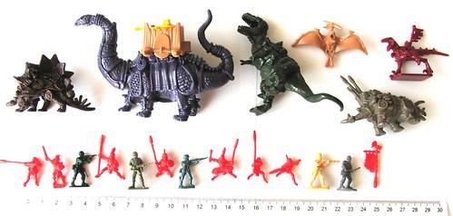 zdjęcia Schlacht Dinozaurow 1-72 20mm
