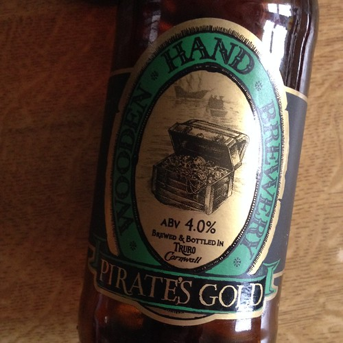 Wooden Hand Brewery. Pirate's Gold, 4%