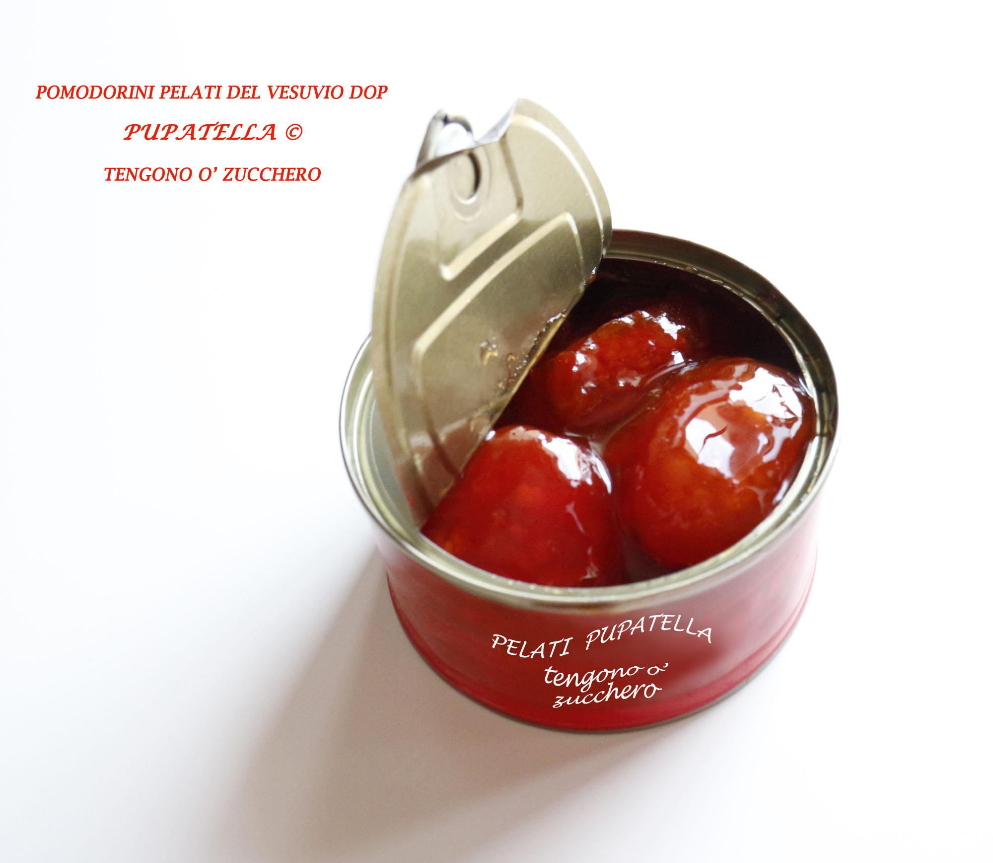 Pomodorini PELATI sciroppati Pupatella©
