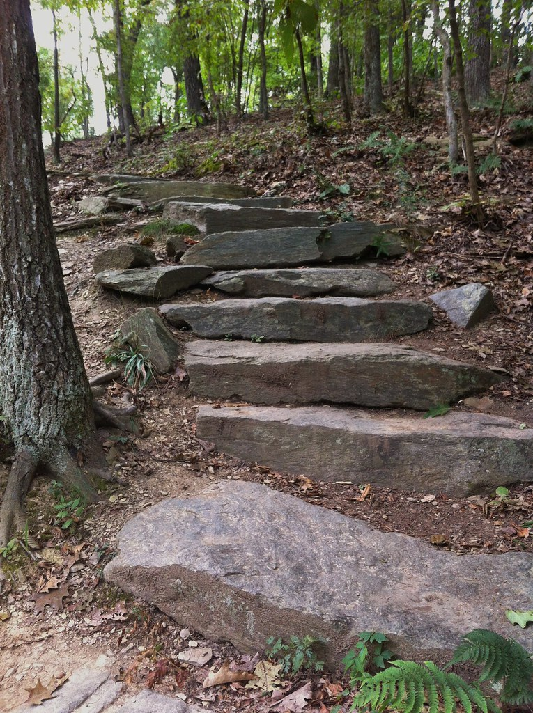 Harpers Ferry Steps along the Lower Town Trail