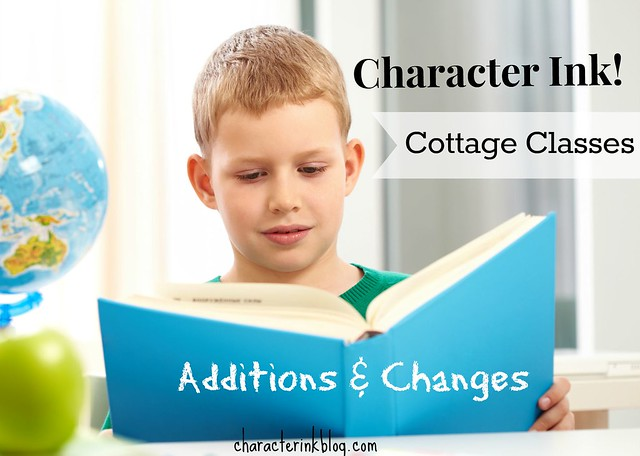 Character Ink! Cottage Classes - Additions and Changes