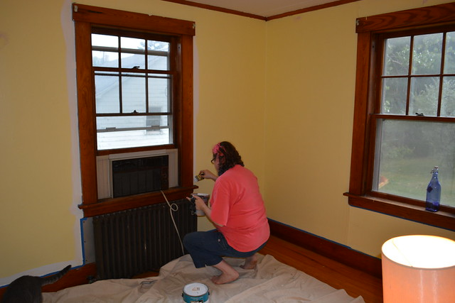 Painting the old guest room