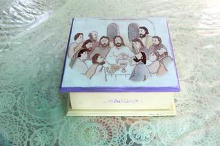 Sacramental bread box.