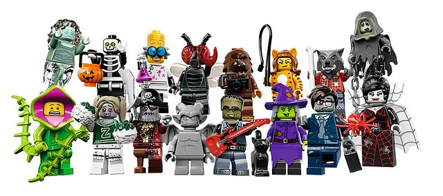 LEGO Collectable Minfigures 14 Monsters