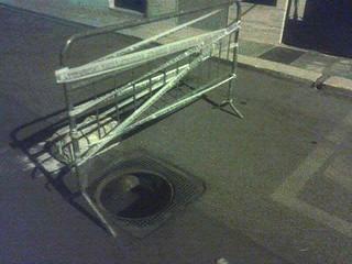 Casamassima- ladri o vandali- fogna 1_ Foto di G. Calisi