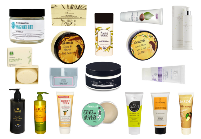 Cocoa Butter in Body Care Products