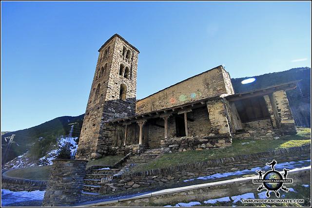 Iglesia de San Joan de Caselles, Canillo, Andorra.