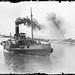 Steam paddle tug boat by gordon_morales