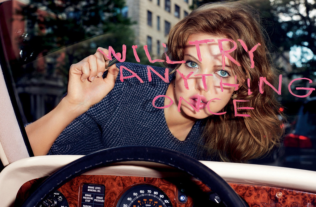 Линдси Виксон — Фотосессия для «Dior» 2015 – 4