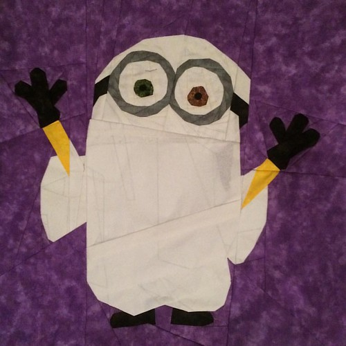 Boo yah! A Halloween Minion :) Pattern coming soon to Craftys & Fandom in Stitches.