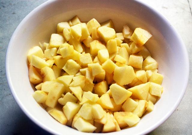 Apple Halwa Recipe - Step1