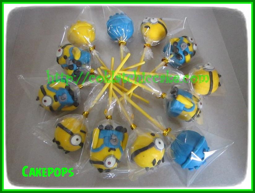 Cakepops Minion