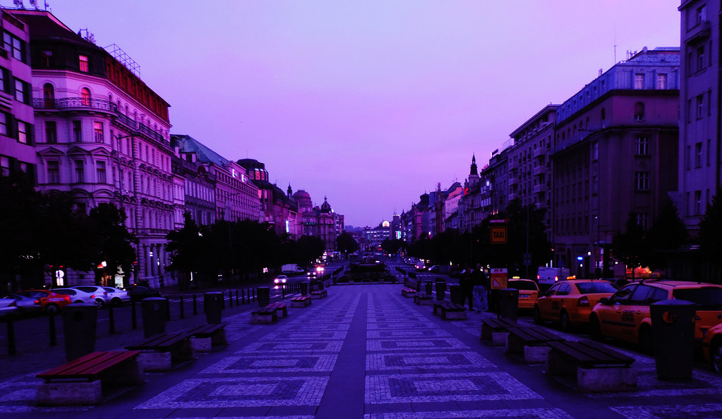 Wenceslas Square, Prague, Czechia