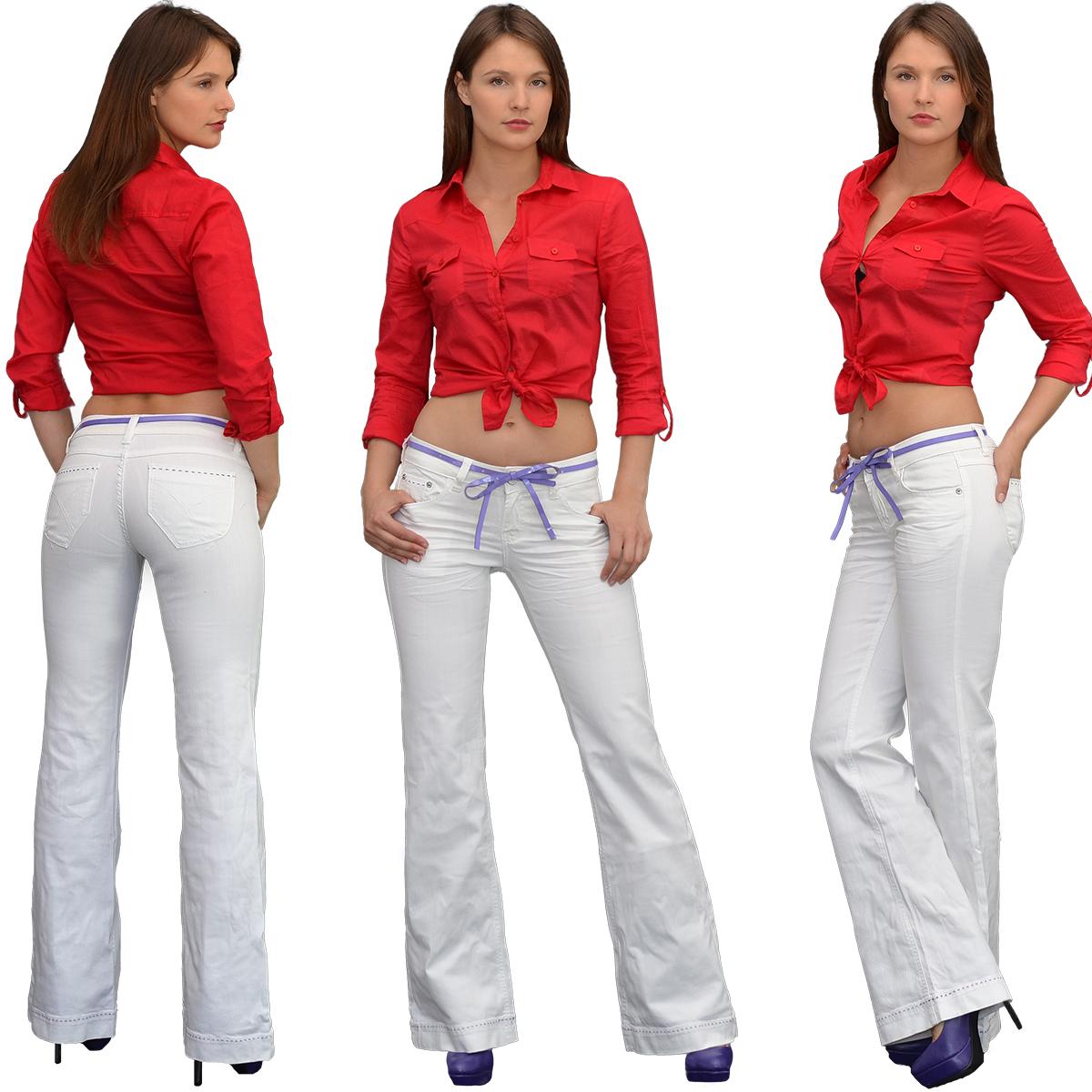 damen bootcut jeans damen jeanshose bootcut schlaghose. Black Bedroom Furniture Sets. Home Design Ideas