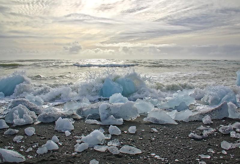 Where icebergs go to die