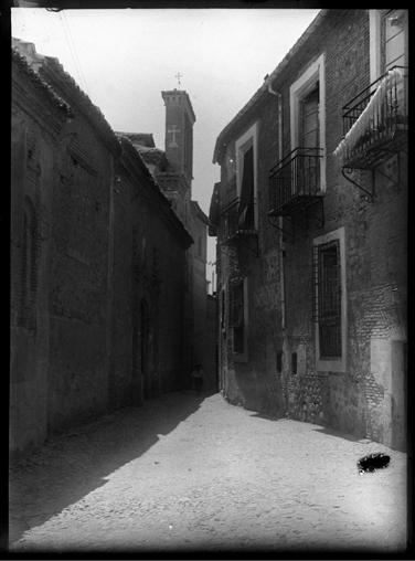 Convento de Santa Isabel en Toledo hacia 1920. Fotografía de Enrique Guinea Maquíbar © Archivo Municipal de Vitoria-Gasteiz