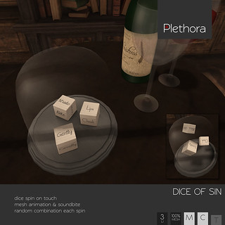 Plethora - Dice of Sin