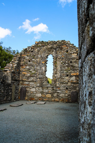 old church Glendalough