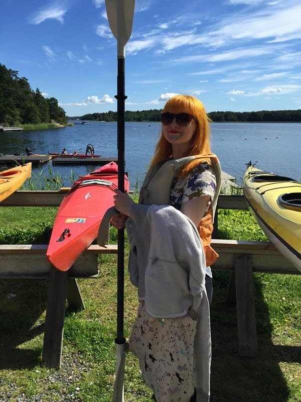 Ready to go kayaking