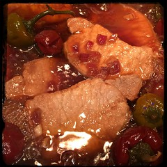 #Homemade Asian-Style Cherry Pepper Pork Chops #CucinaDelloZio