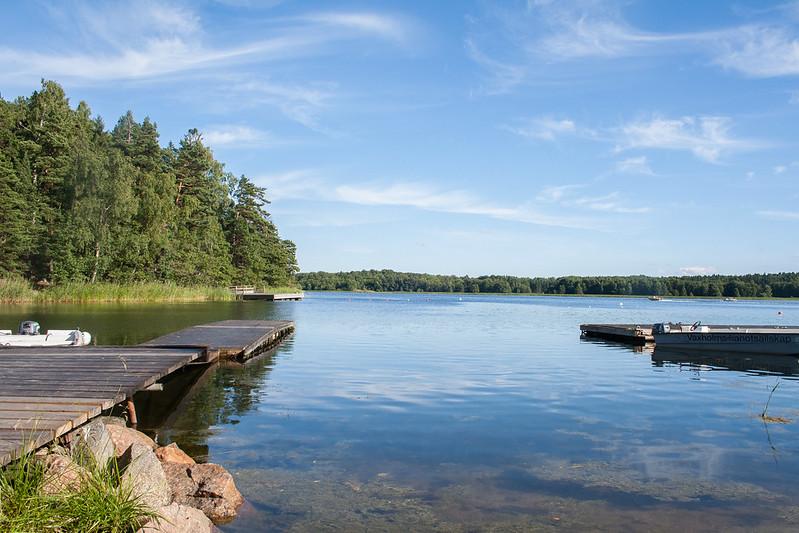 View from Vaxholm kayak hire