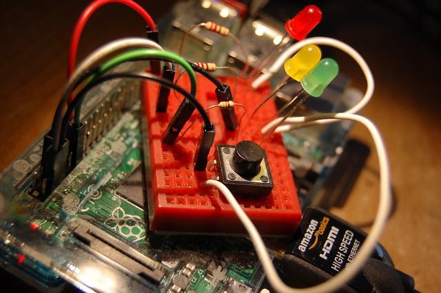 Raspberry Pi adevntures in physical computing