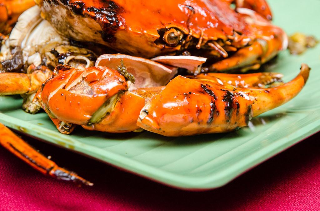 Seremban Baked Crabs 芙蓉烧蟹 at Kedai Makanan Seremban (芙蓉烧蟹海鲜村)