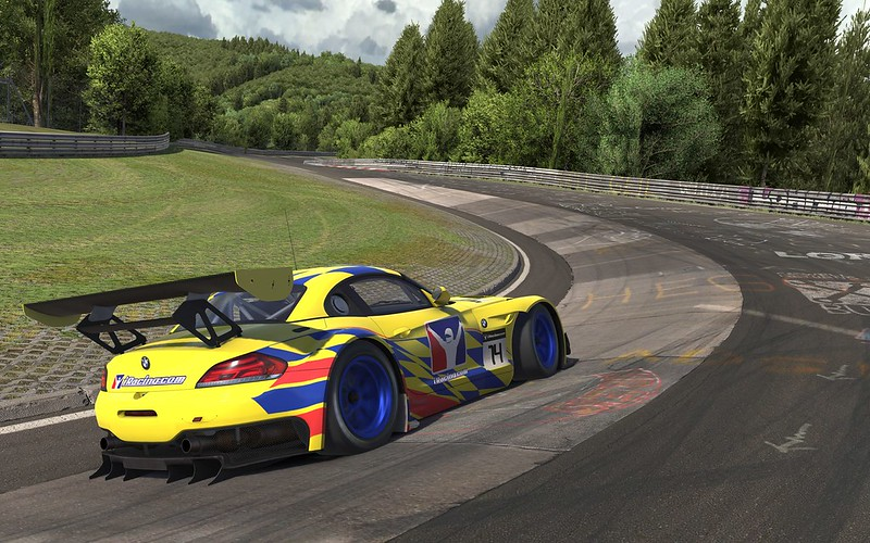 iRacing Nürburgring Nordschleife Teaser Screenshot