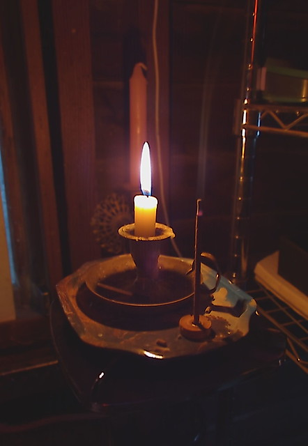 Candle & Incense