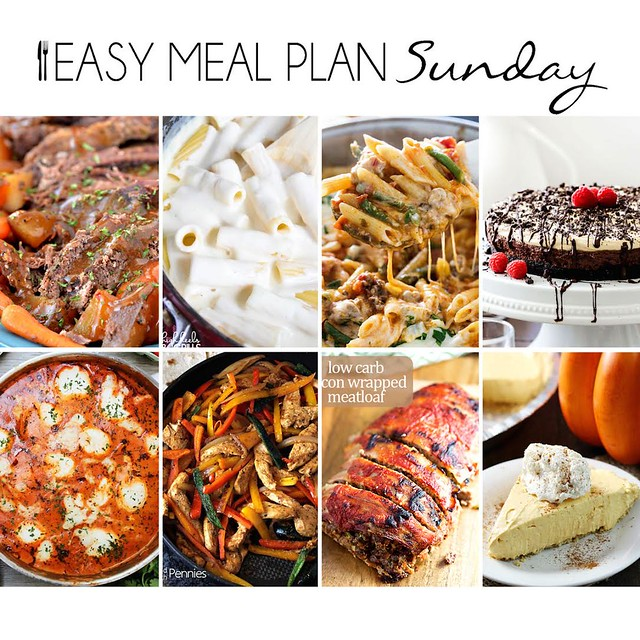 Week 20. Collaborative weekly meal planning. 9 bloggers. 6 dinner ideas, one weekend breakfast plus 2 desserts every single week equals one heck of a delicious menu!