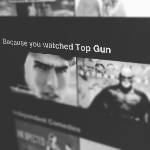 This is what happens when you watch Top Gun a million times on Netflix...