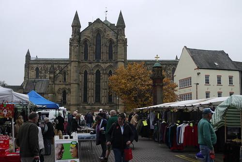 Hexham Abbey & Market