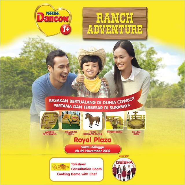 Ranch Adventure Dancow Excelnutri+, Eksplorasi petualangan si Kecil di Dunia Coboy
