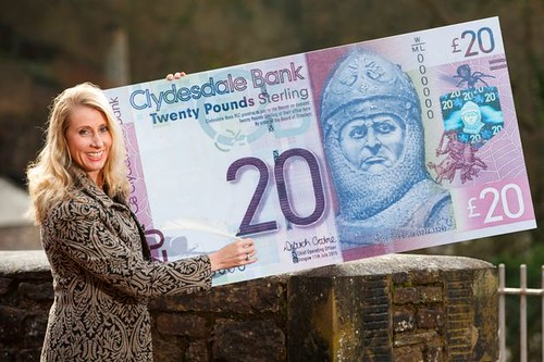 first Scottish banknote signed by a woman