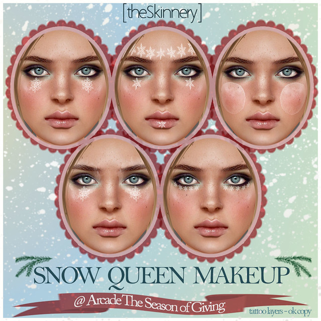 [theSkinnery] Snow Queen Makeup Gift