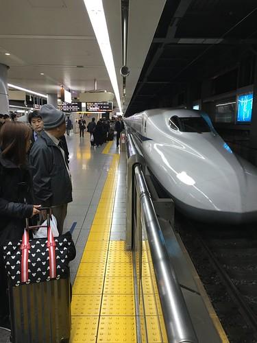 shinkansen hikari at shinagawa