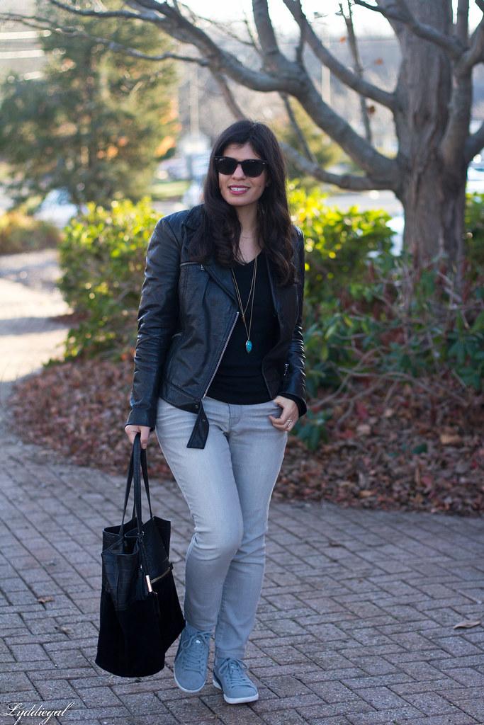 black leather jacket, grey jeans, puma sneakers-4.jpg