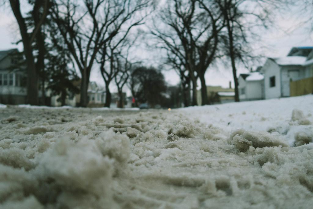 Winter came like a lion