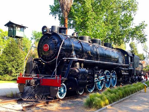 Museo Ferroviario - Parque Quinta Normal, Santiago