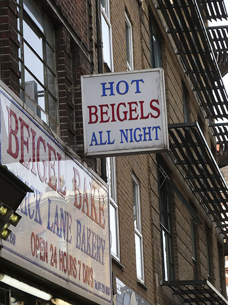 hot beigels all night