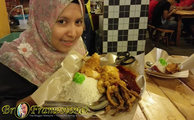 Nasi Lemak Embah Syukur, Parit Raja, Johor