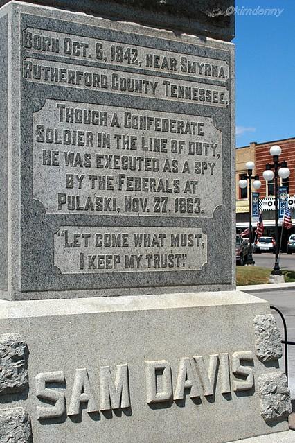 Sam Davis, boy hero of the Confederacy