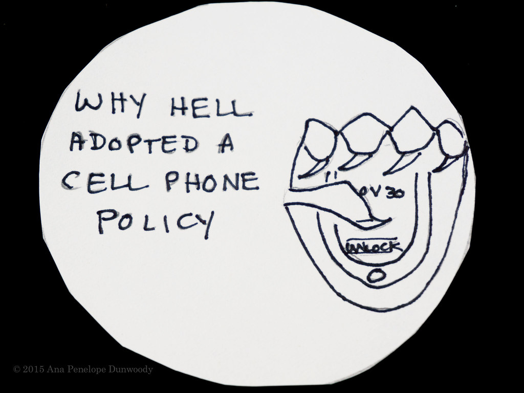 Why Hell Adopted a Cell Phone Policy #1