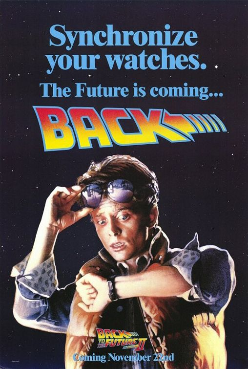 Back to the Future - Part II - Poster 1
